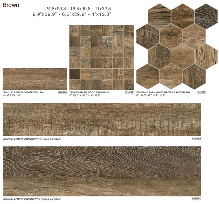 Гранитогрес BARN WOOD - DOM Ceramiche