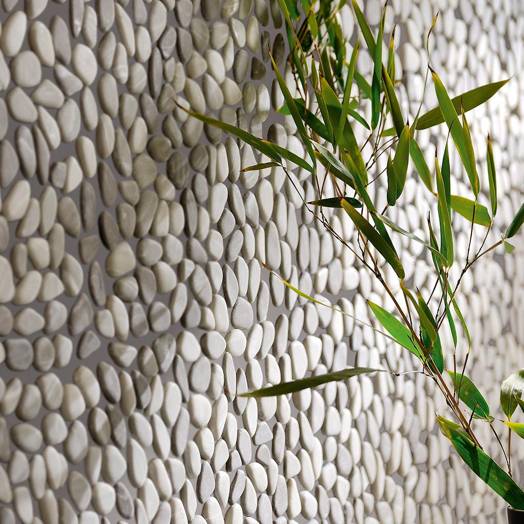 Mosaico Sassi Mix Caldo