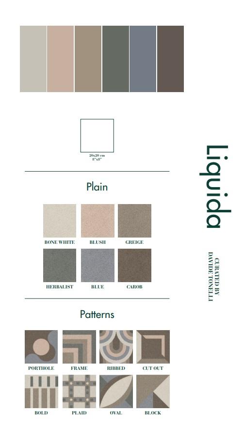 НОВО! Liquida & Passepartout - Fioranese Ceramica