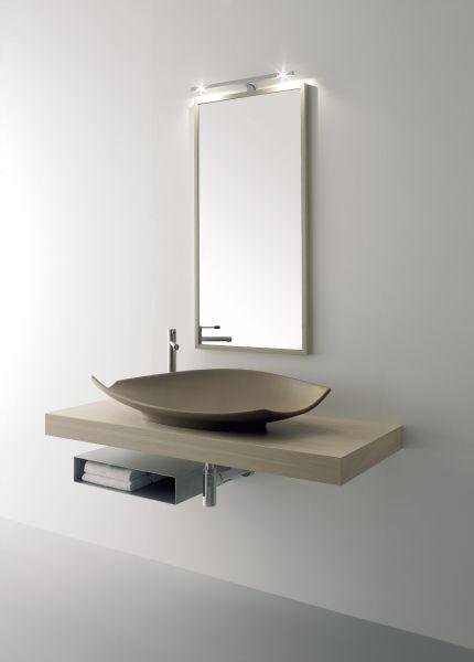 Конг 90см мат браун с плот и огледало