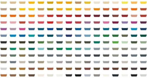 192 Цвята Панели